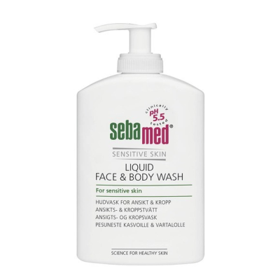 SEBAMED LIQUID FACE&BODY WASH PESUNESTE  PUMPPUPULLO 300 ML