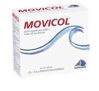 MOVICOL jauhe oraaliliuosta varten, annospussi 8 kpl