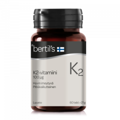 Bertils Vitamin K2 60 tabl