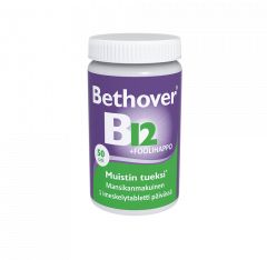 BETHOVER B12-VITAMIINI + FOOLIHAPPO 1 MG/300 MIKROG 50 TABL