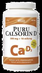 PURU CALSORIN D3 500 MG + 10 MIKROG 100 PURUTABL