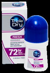 TRIPLE DRY FRESH 72H ROLL-ON ANTIPERSPIRANT TUOKSULLA 50 ML