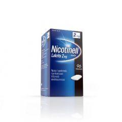 NICOTINELL LAKRITS 2 mg lääkepurukumi 96 fol